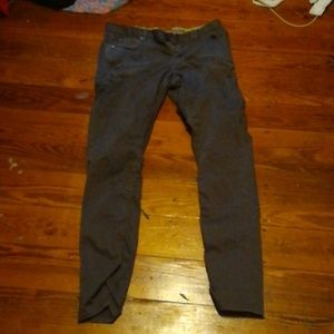 Converse long pants dark grey size 8